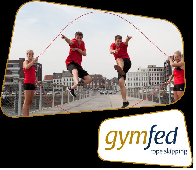 Rope skipping - Belgisch kampioenschap Minidemo