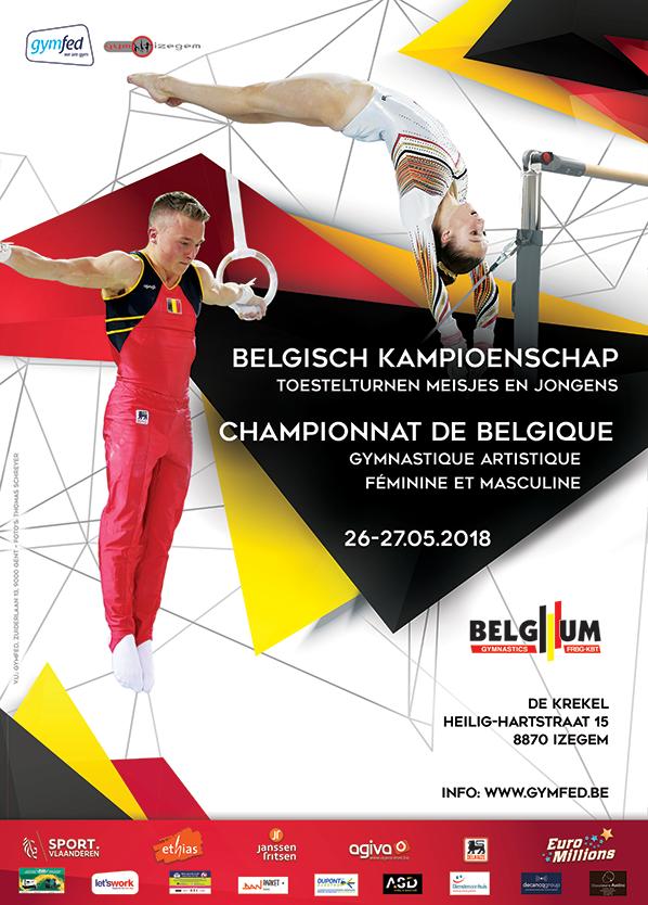 TTJ - Belgisch kampioenschap A-niveau en TTm Belgisch kampioenschap A en B-niveau
