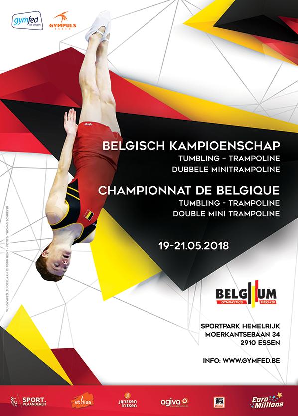 TU TRA - Belgisch Kampioenschap Trampoline A-, B-niveau + Tumbling A-, B-niveau