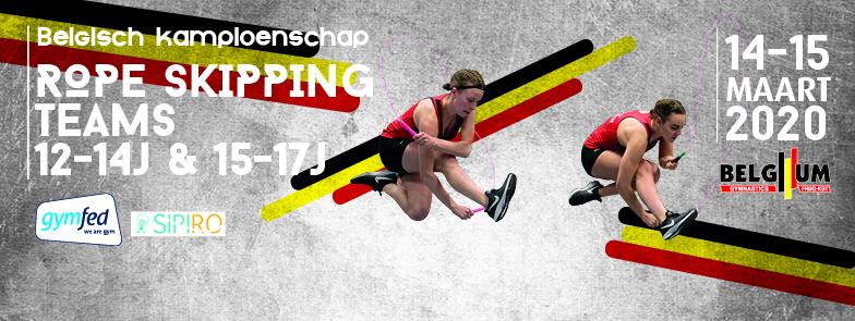 RS - Belgisch kampioenschap Teams 12-14j, 15-17j + Selectiewedstrijd Groot BK 18+j (annulatie)