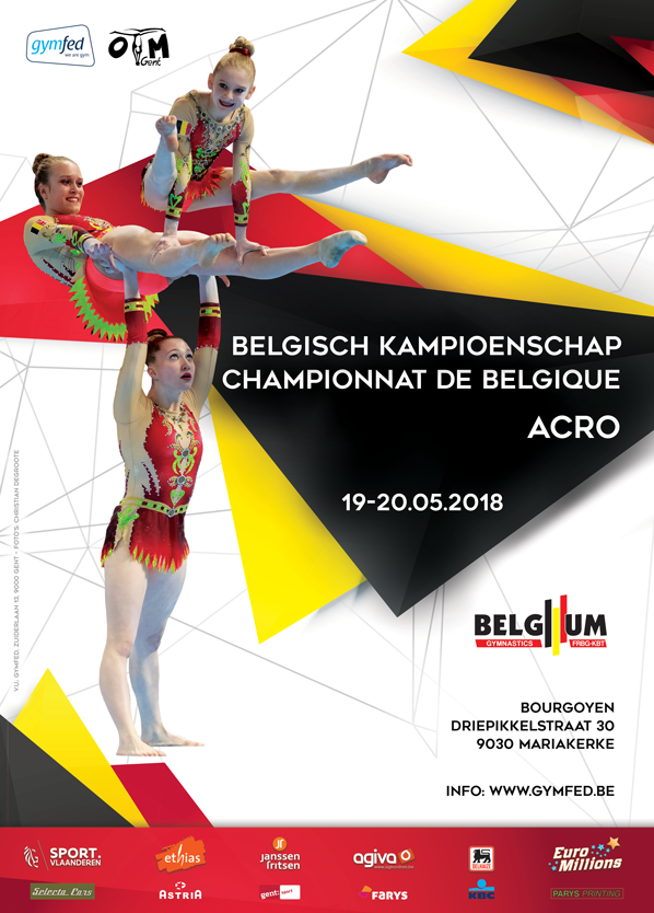 ACRO - Belgisch Kampioenschap A- en B-niveau